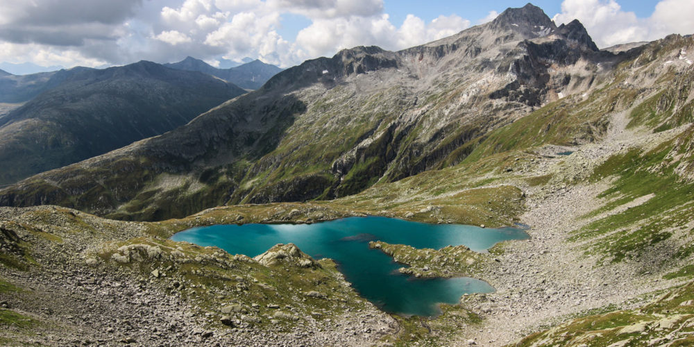 Val Medel Bergsee Lai Blau Rheinquelle