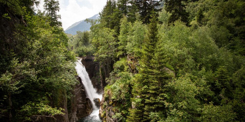 Val Medel Wasserfall Cascada Fimatsch